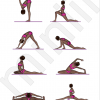 poses yoga pour cart latral - yoga poses for split